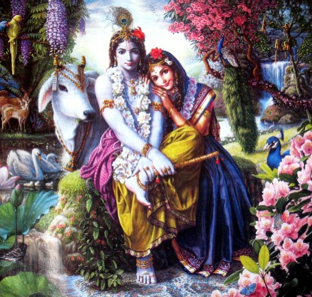desktop wallpaper of lord krishna
