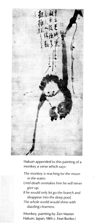 Shaolin Kung Fu Zen_humor_Hakuin_ptg_of_monkey_smaller